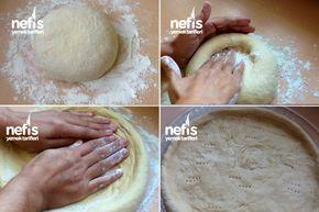 Ev Yapımı Klasik Pizza ( Mayalı) - Nefis Yemek Tarifleri