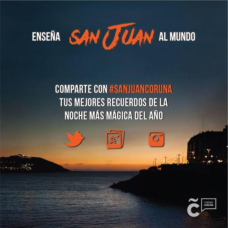 Ayúdanos a enseñar #SanJuanCoruna al mundo y gana un vuelo fotográfico en avioneta o entradas para los conciertos de Alejandro Sanz, Melendi o Sting. Bases ➡ https://goo.gl/doRaxS