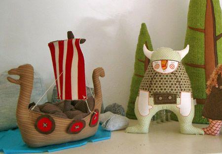 Muñecos de tela, obras de arte para niños > Decoracion Infantil y Juvenil, Bebes y Niños