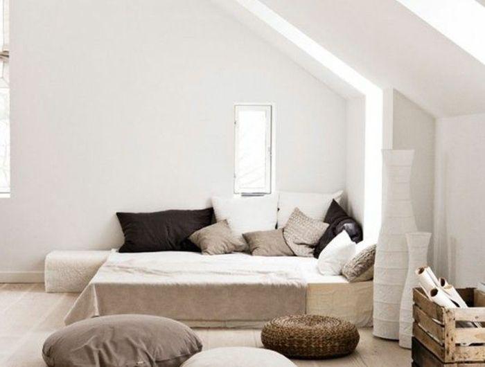 sol-parquet-clair-double-lit-chambre-a-coucher-saint-maclou-parquet-clair