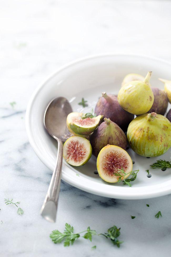 Fig, lobster mushroom, and taleggio - late summer tarts :: Cannelle et VanilleCannelle et Vanille