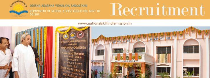 Odisha Adarsha Vidyalaya Sangathan-Recruitment  Odisha Adarsha Vidyalaya Sangathan-recruitment-1090 vacancies-Trained Graduate Teacher/Physical Education Teacher/Art Teacher/Various Vacancies-Pay Scale : Rs.9300-34800/-Apply Now-Last Date 09 February 2017  Job Details :   Post Name : Trained Graduate Teacher (TGT) No. of Vacancy : 561 Posts Pay Scale : Rs.9300-34800/- Grade Pay : Rs.4600/- Post Name : Physical Education Teacher (PET)