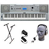 Yamaha DGX230 76-Key Digital Piano Pack with Stand Power Supply and Headphonesby Yamaha1718% Sales Rank in Musical Instruments: 257 (was 4673 yesterday)(207)Buy new: $289.9818 used & new from $199.99 (Visit the Movers & Shakers in Musical Instruments list for authoritative information on this product's current rank.)
