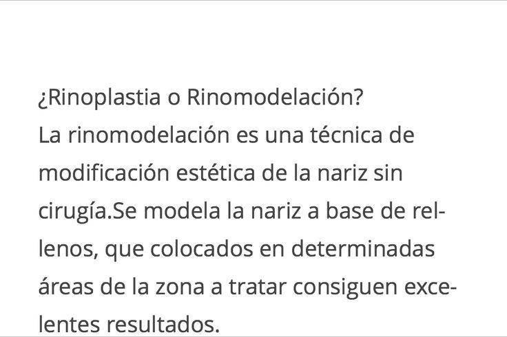 Cirugía de nariz Rinoplastía Estética Septoplastia¿Rinoplastia o Rinomodelación?HG CIRUGIA PLASTICA(02) 29547606WhatsApp +56 9 56098618francisca@drhumbertogacitua.comLa rinomodela...