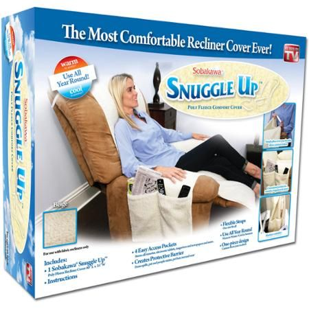 Snuggle Up Fleece Recliner Chair Cover As Seen On Tv