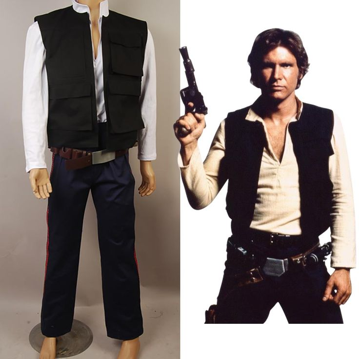 >> Click to Buy << Movie Star wars Han Solo costume adult Halloween cosplay costumes for men cosplay Han Solo suit Men Clothes Shirt Vest Pants #Affiliate