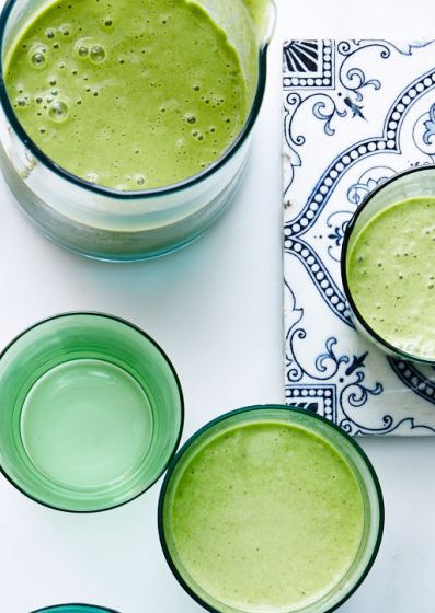 how to make a green tea smoothie without matcha