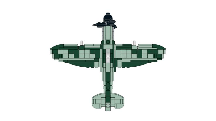 Download the LEGO Supermarine Spitfire MOC created by The Bobby Brix Channel on our website!
