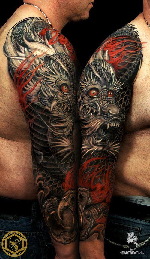 9 Most Intense Dragon Tattoos   Tattoo.com