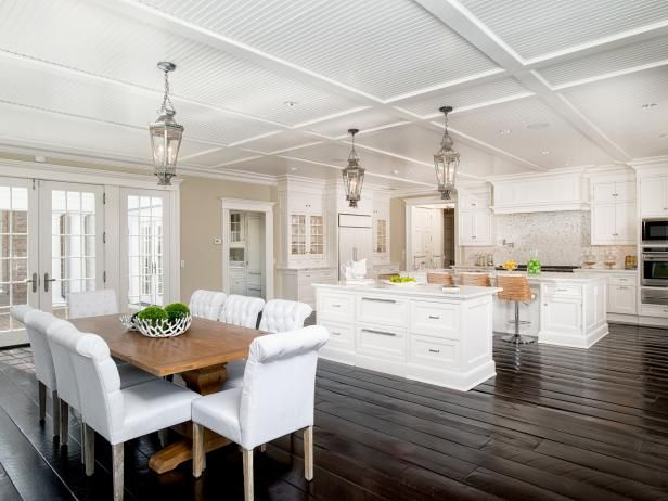 Tour a Grand Manor Located in Greenwich, Connecticut | HGTV.com's Ultimate House Hunt >> http://www.hgtv.com/design/ultimate-house-hunt/2015/amazing-kitchens/amazing-kitchens-grand-manor-in-greenwich-connecticut?soc=pinhuhh