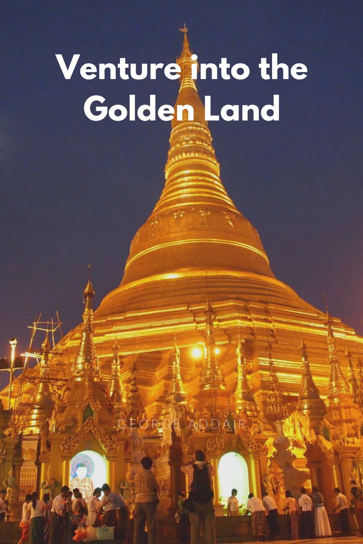 A visit to the magnificent Shwedagon pagoda in Yangon, Myanmar