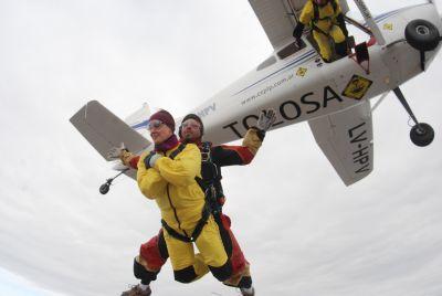 Excursion Salto Tandem En Paracaidas C/Trf - Haga Su Reserva On-Line.