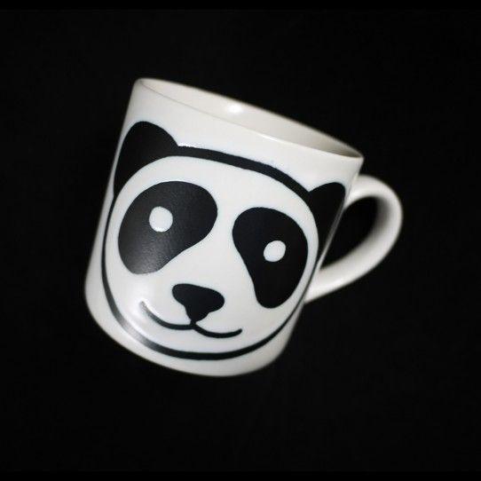 panda coffee mug. i need this!