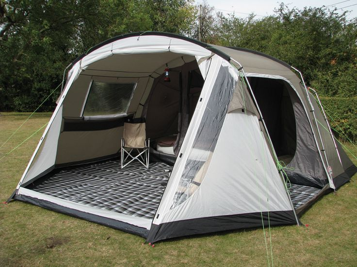 Coleman Lakeside 6 Deluxe...no need for a canopy! this is similar to our tent, but I love this one tent
