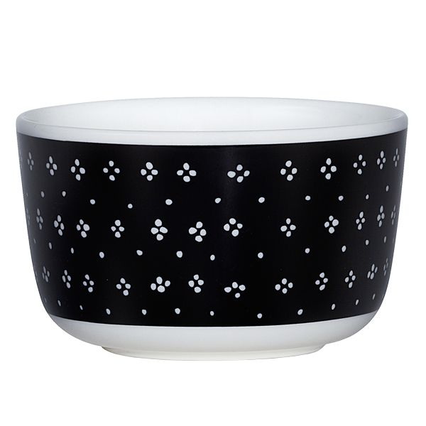 Oiva - Muija bowl, 2,5 dl, black, by Marimekko.