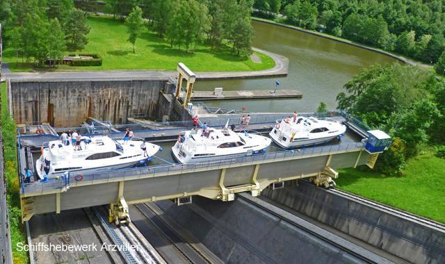 Schiffshebewerk St. Louis/Arzviller im Elsass