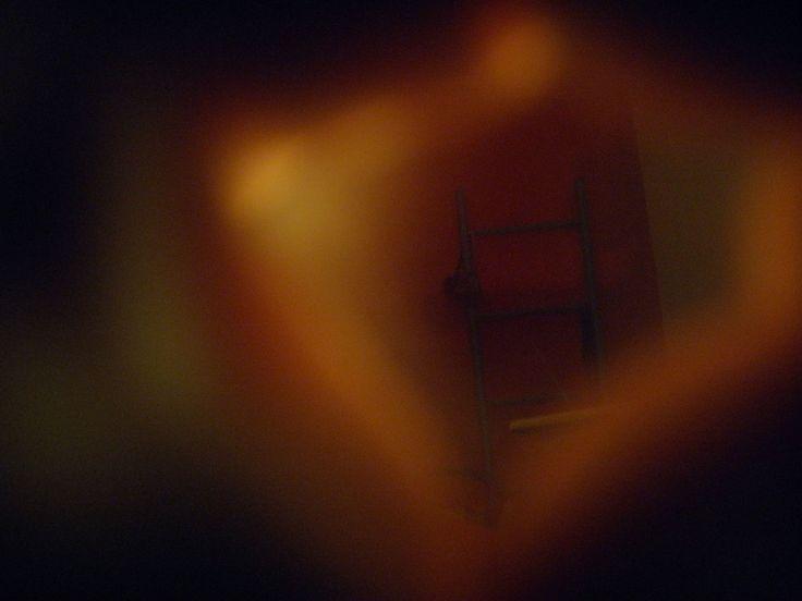 like a keyhole