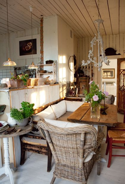*THE ESSENCE OF THE GOOD LIFE™*: AN OLD SCHOOL TURNED INTO A LOVELY HOME IN COUNTRY STYLE