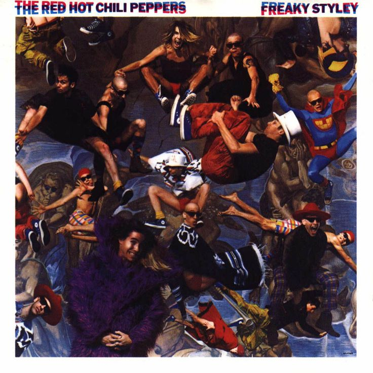 01/02/1986 The Red Hot Chili Peppers - The Freaky Styley Tour (also known as the Infinity Tour) #tacoland #RHCP #SATX