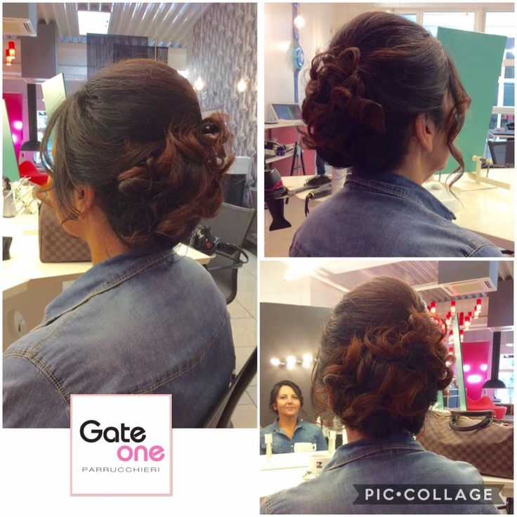 Acconciatura realizzata da Eliana #wow #amazing #elegance #beautiful #woman #hairstyle #hair #coolhair #hairdresser #treviso www.gateoneparrucchieri.it