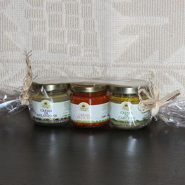 Tris di Creme spalmabili di verdure - SardinianStore.com