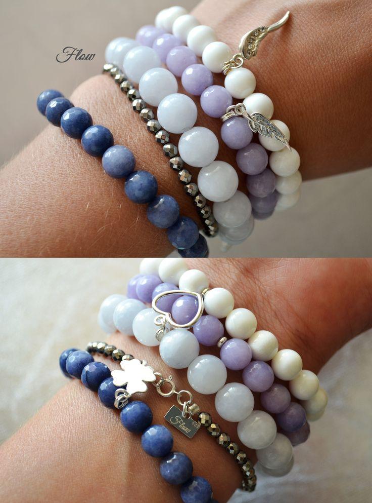 bracelets, stones, silver 925  https://www.facebook.com/FlowBransoletki?fref=ts