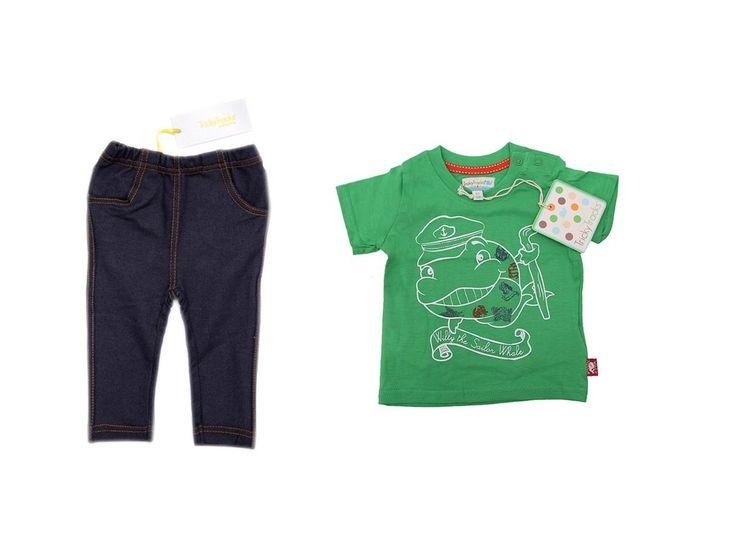 Velikost 68. Kombinace kalhoty a triko ve velikosti 68.