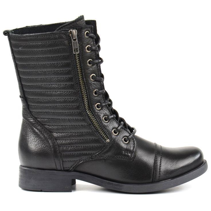 Zipper lace-up boots - Veterlaarzen met rits