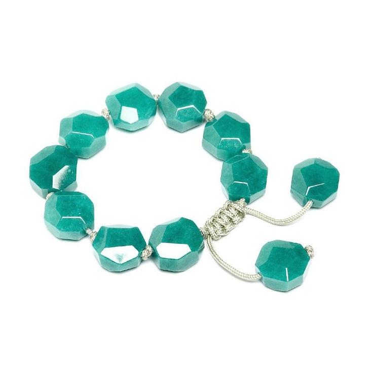 Lola Rose Wednesday Teal Quartzite Bracelet
