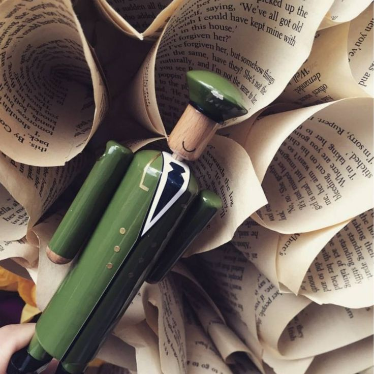 Thank you to @nayla_r for sharing this photograph of her little friend, who appears to have been rolling the pages of books instead of reading them... #MyGreenMan #VogueFestival http://www.harrods.com/style-insider/news/ss15/harrods-my-green-man-competition