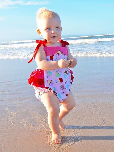 ISABELLA - Baby Ruffle Romper Sewing Pattern