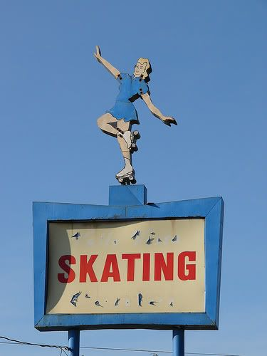 Skating Sign...Hayward, California Valley Vista  Oh how I Remember this place!!!!!!