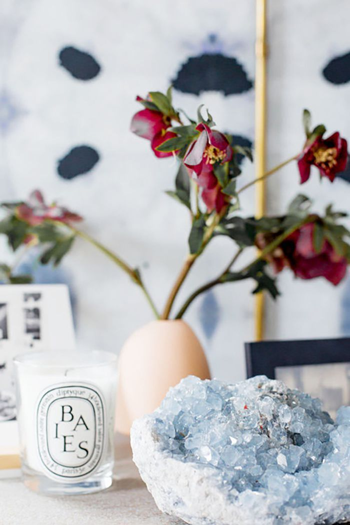 Get In on the Amethyst Geode Décor Trend That Combines Wellness With Design via @MyDomaine