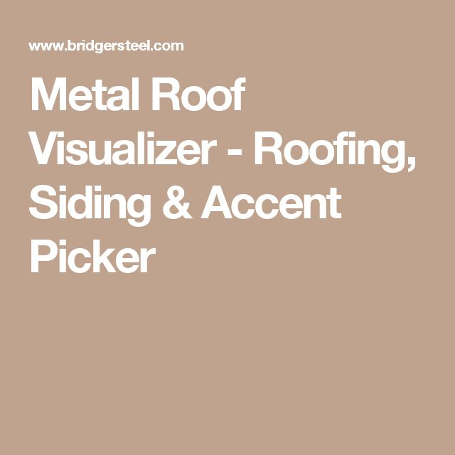 The 25 best metal roof colors ideas on pinterest metal for Siding and roof color visualizer