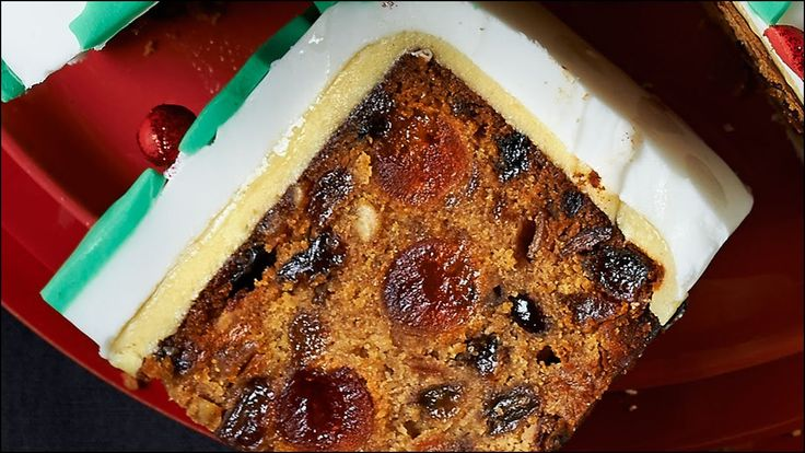 Traditional English Wedding Fruit Cake Recipe