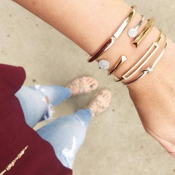 Arm party time! This is the HOT New trend 😀 What's your arm party? Shop the styles at  stelladot.com/jennlancaster