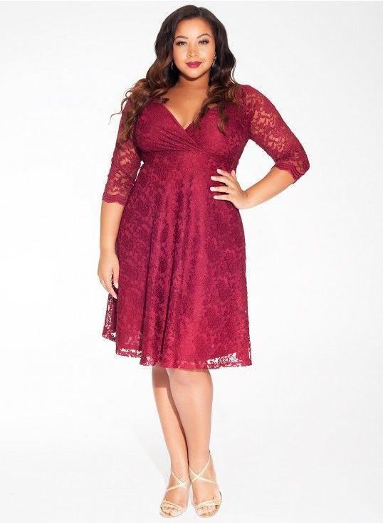 d001028f6f 37 Casual Plus Size Christmas Party Outfits Ideas