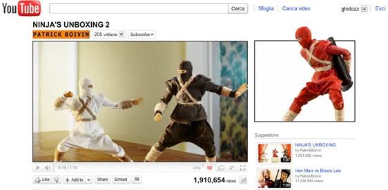 Una guerra fra ninja che dal player si espande anche al banner laterale. #youtube #youtubemarketing #youtubetips #youtubetakeover #graphic #design #youtubechannel #marketing #videomarketing