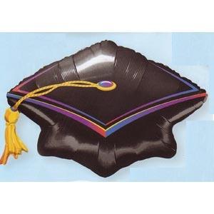 "Graduation Cap 45"" Mylar Balloon"