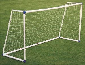 """Soccer Goal post - Made of 2.5"""" heavy SEP tube with plastic elbows for all corners for fastest assembly."""