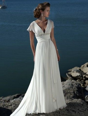 ...find a dress exactly like this one, and wear it down the aisle. :)  It's so different from what I normally like, but it's absolutely perfect.