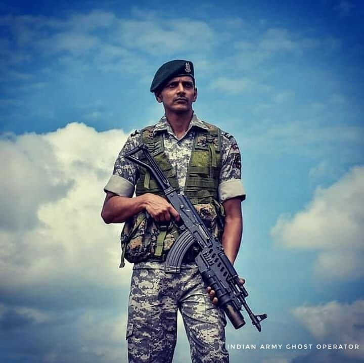 Indian army commando hd wallpaper