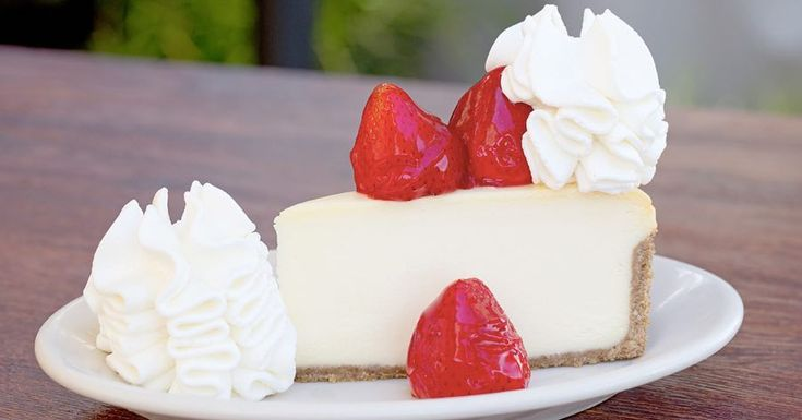 """365 Likes, 22 Comments - The Cheesecake Factory Canada (@thecheesecakefactoryca) on Instagram: """"What's red, white and delicious all over? Fresh Strawberry #Cheesecake! 🍰 🍓 😍"""""""