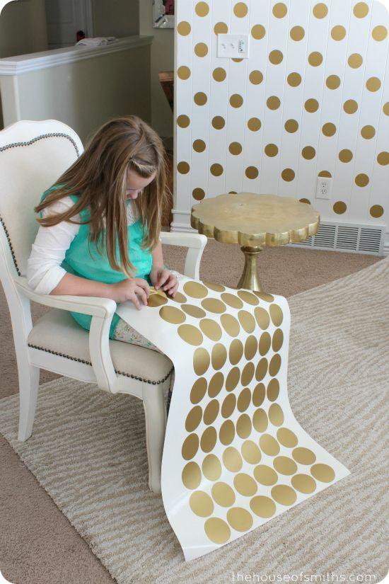 Busca un proyecto de fin de semana con sus hijos? Atrevase a decorar su casa con viniles