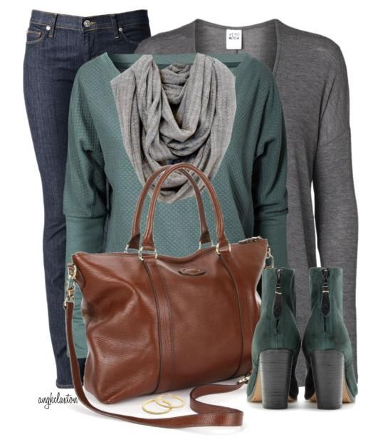 Cute Fall Outfits 2014 For Women- minus the boots
