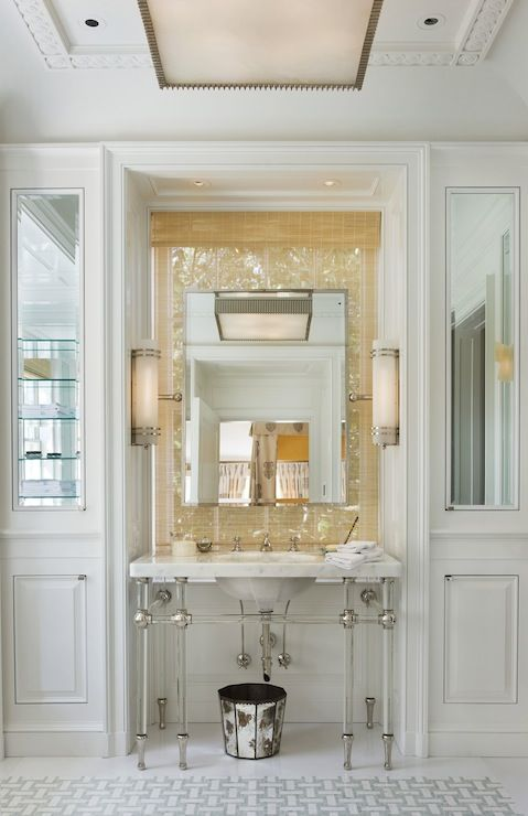 Suzie: G. P. Schafer Architect - Stunning bathroom with marble tiles floor with marble ...