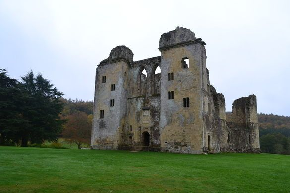 England: Wiltshire; Old Wardour Castle. Besieged by war, this castle ruin has crumbled into a peaceful picnic spot.