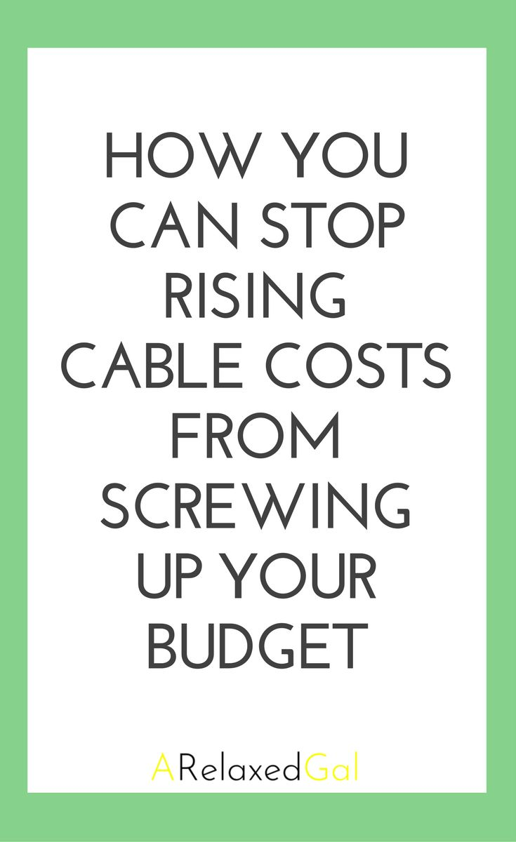 It seems like every year we hear that watching our TV is going to be even more expensive because cable providers are raising their prices. Then we have to go to our budgets and find out how to cover the extra costs. STOP! Don't let cable win. See how you can still watch your fav TV shows and not wreck your budget.  | ARelaxedGal.com #cablealternatives #savemoney