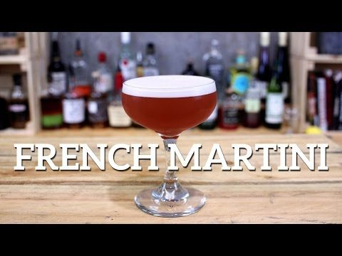 How to make a French Martini cocktail. Find more cocktail recipes.
