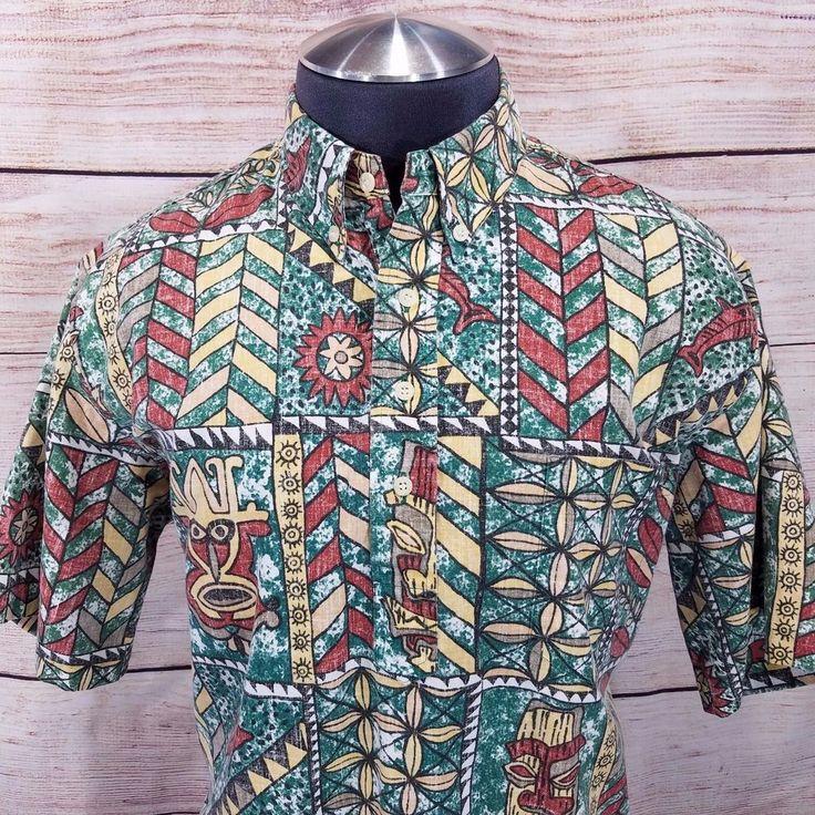 STRIR Camisa Hawaiiana Hombre Casual Estampado de los Hombres Camiseta Superior cQDeiG